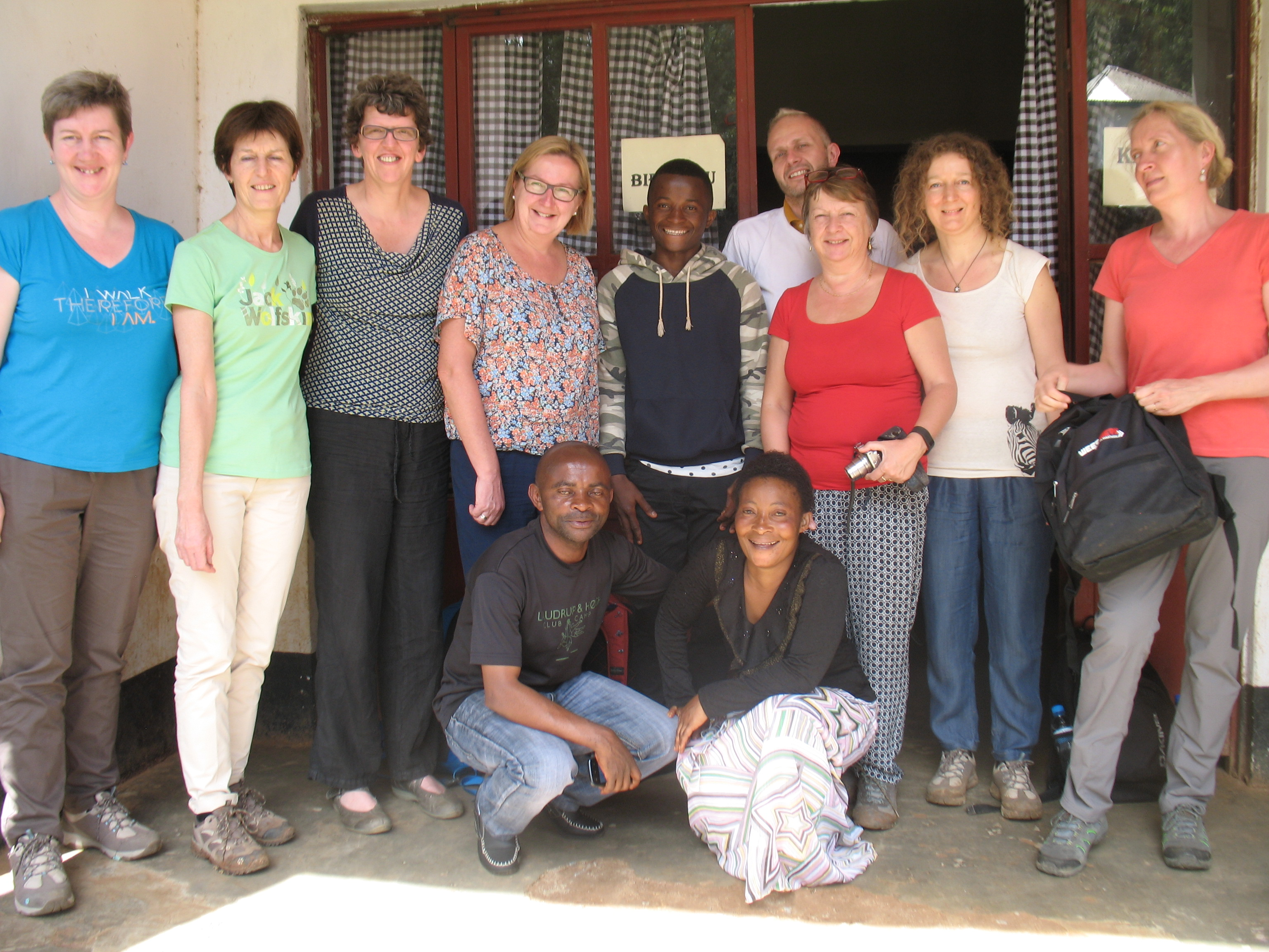 Zuidreizigers 2017 bij Stanislas in DR Congo