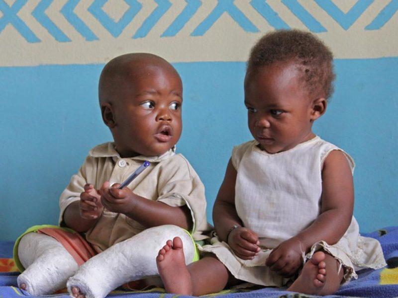 Kinderen met een beperking in Rwanda