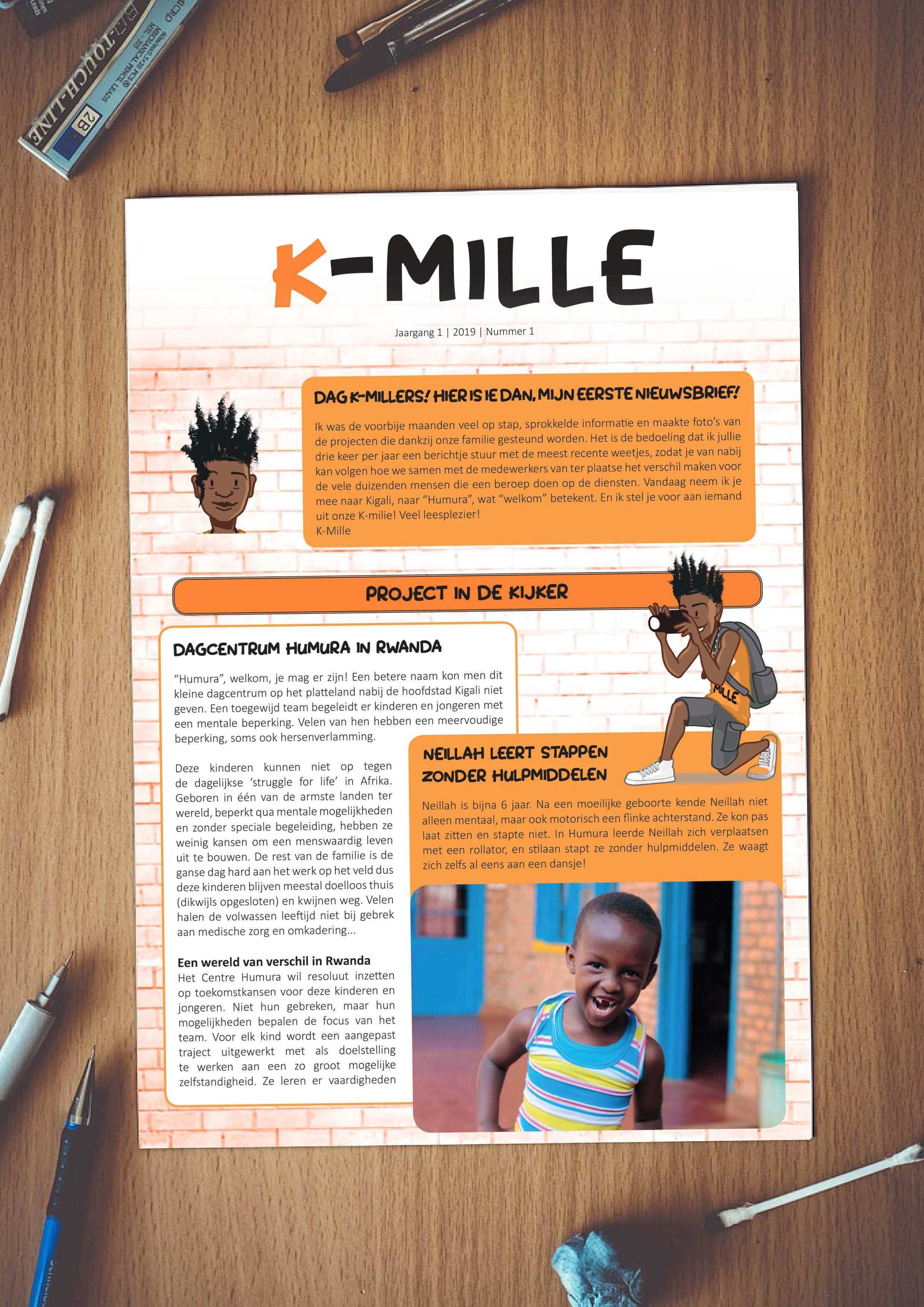 Nieuwsbrief K-Mille Fracarita Belgium