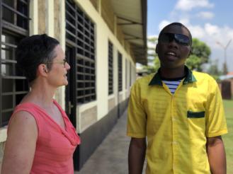 Zuidreizigers ontmoeten hoofdpersonages van de nieuwe Zuidactiecampagne