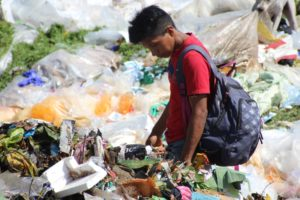 Kinderen Nicaragua vuilnisbelt