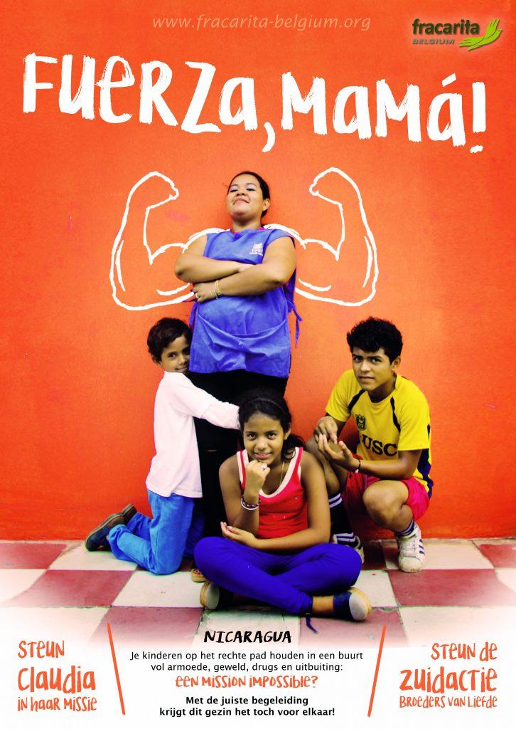 Affiche Zuidactie 2020 Fuerza Mama