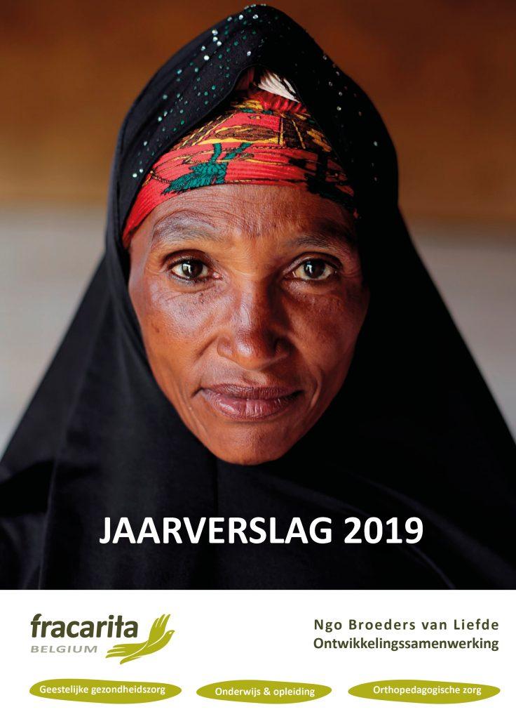 Cover jaarverslag 2019 Fracarita Belgium