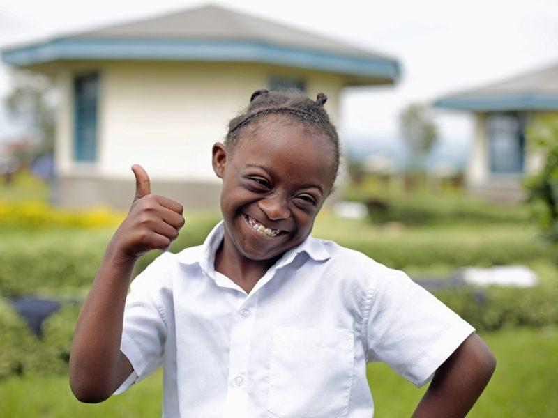 Internationale samenwerking - Fracarita Belgium - Meisje - Goma - DR Congo - Afrika