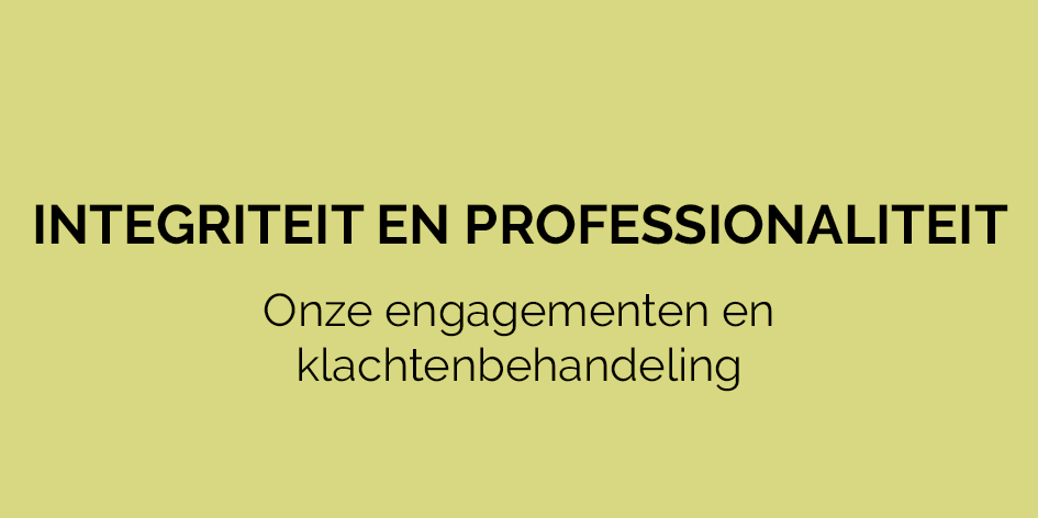 Over Fracarita Belgium - Integriteit en professionaliteit - Fracarita Belgium