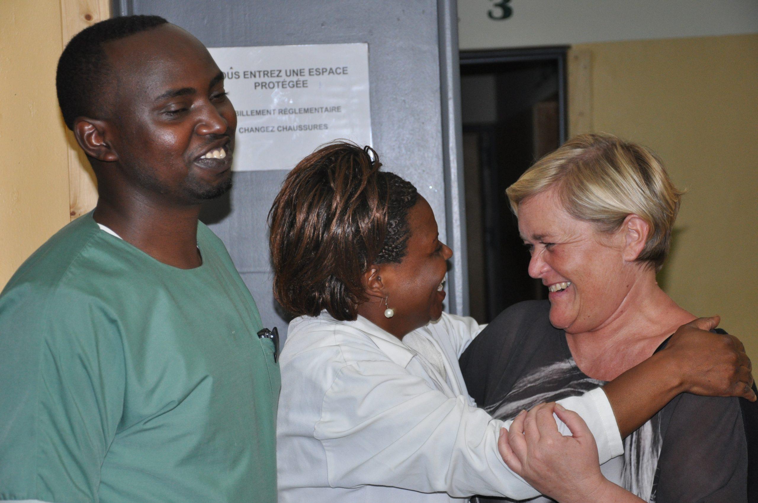Zuidreis Afrika Grote Merengebied Rwanda Kivu Oost-Congo Broeders van Liefde volwassenen personeelsleden
