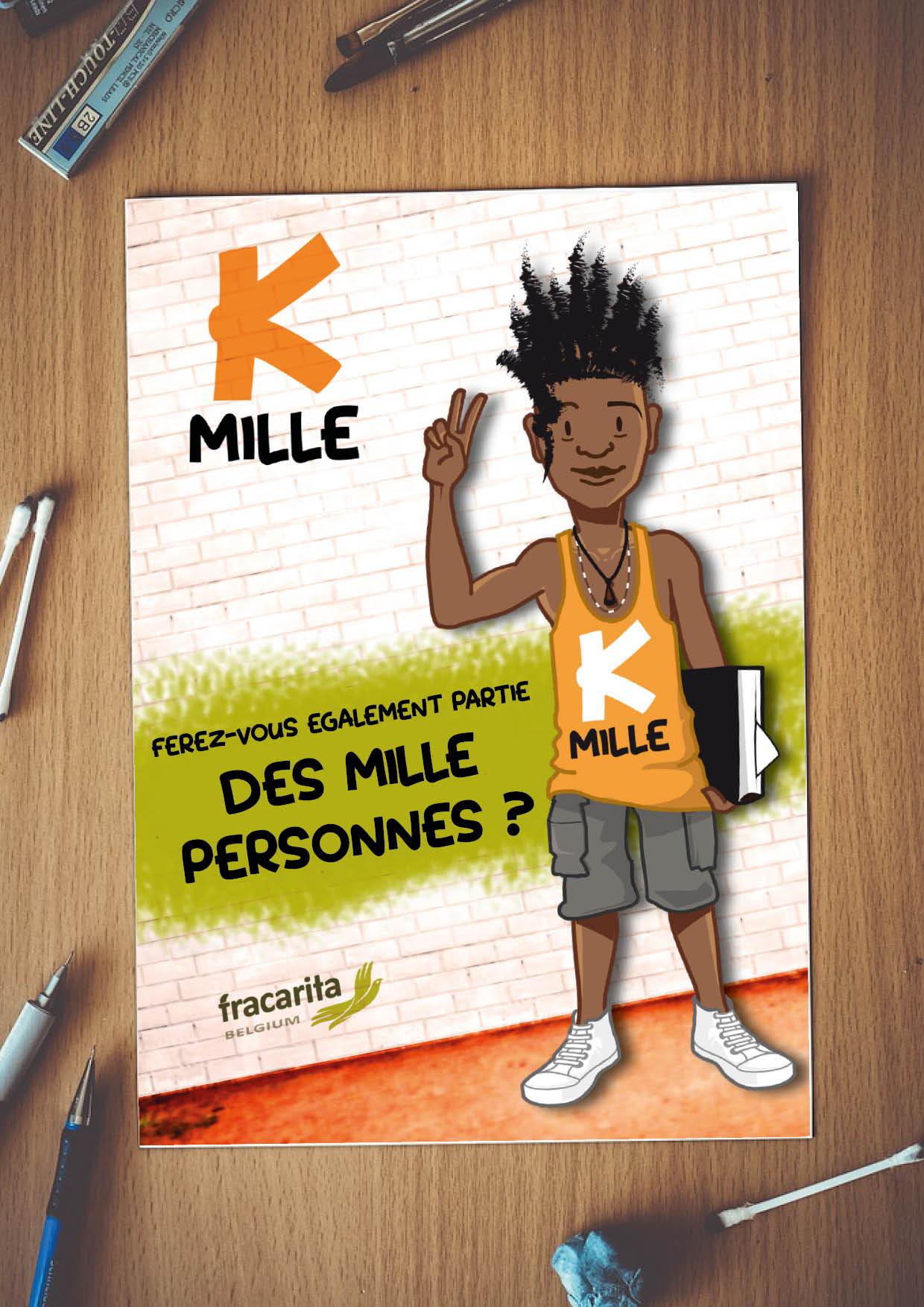 FR Newsletter K-Mille op blad papier